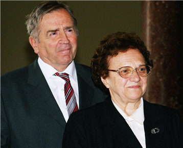 Pintérek-házaspár Rátz Díjat kap 2007-ben